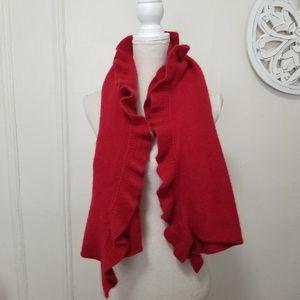 White + Warren scarf 100% cashmere